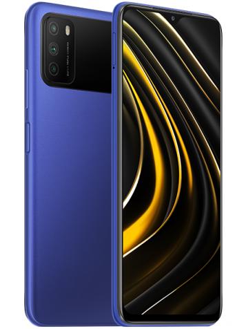 Смартфон POCO M3 4/64 Gb (Global, синий/Cool Blue)