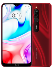 Redmi 8 4/64GB (Global, красный/Ruby Red)