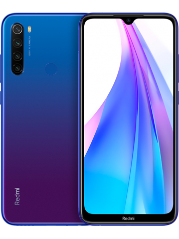 Redmi Note 8T 4/128GB (Global, синий/Starscape Blue)