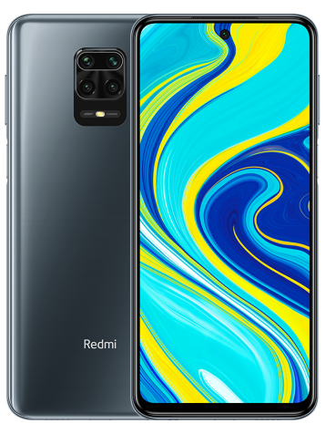 Смартфон Xiaomi Redmi Note 9S 4/64 Gb (Global Version, серый/Interstellar Grey)