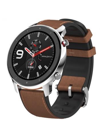 Умные часы Huami Amazfit GTR 47mm (EU, стальной корпус)