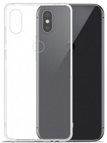 Чехол для смартфона Xiaomi Redmi Note 6 pro силиконовый прозрачный