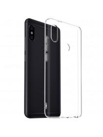 Чехол для смартфона Xiaomi Mi Max 3 силиконовый прозрачный