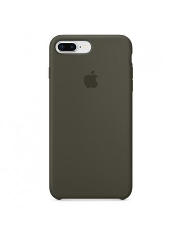 Чехол силиконовый прозрачный iPhone 8+
