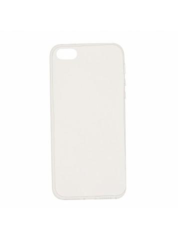 Чехол силиконовый прозрачный iPhone 5/SE
