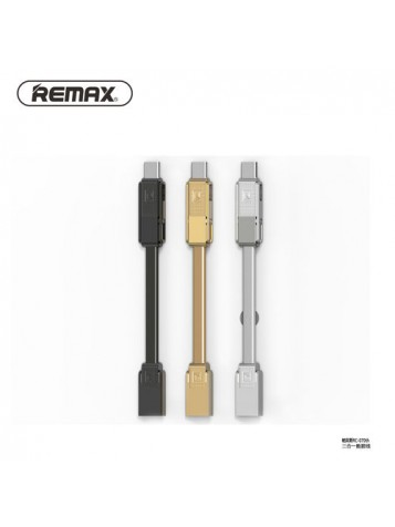 Кабель Remax  Gplex 3 in 1 Cable RC-070th
