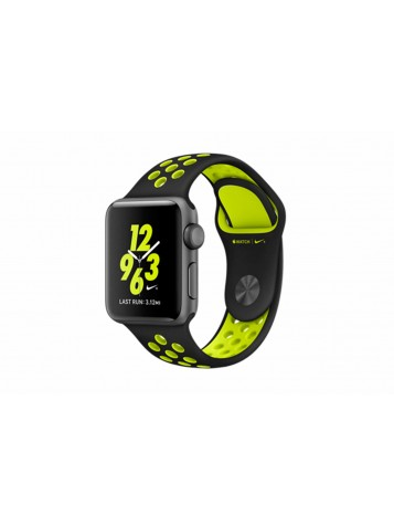 Apple Watch 38mm Black/Volt Nike Sport Band (MP082)