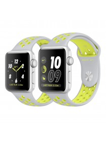 Apple Watch 42mm Silver/Volt Nike Sport Band (MNYQ2)