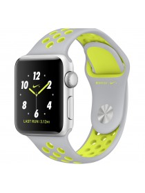 Apple Watch 38mm Silver/Volt Nike Sport Band (MNYP2)