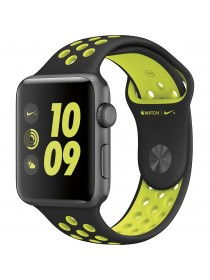 Apple Watch 42mm Black Volt Nike Sport Band (MP0A2)