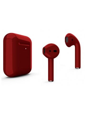 Наушники Apple AirPods 2 с беспроводной зарядкой Glossy Color