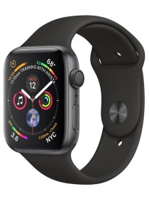 Apple Watch Series 4 GPS 40mm Aluminum Case with Sport Band Black