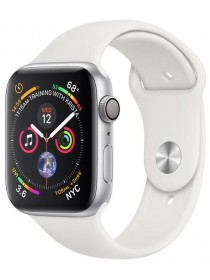 Apple Watch Series 4 GPS 40mm Aluminum Case with Sport Band White