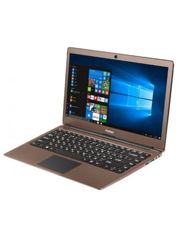 Нетбук Prestigio Smartbook 133S коричневый [1920x1080, FHD, IPS, Intel Celeron N3350, 2x1.1 ГГц, RAM 3 ГБ, SSD 32 ГБ, Intel HD 500, Wi-Fi, BT, Windows 10]