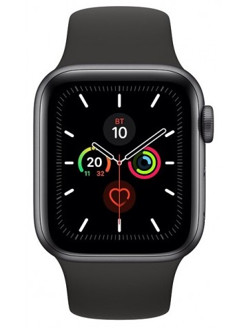 Apple Watch Series 5 GPS 44mm Aluminum Case with Sport Band Gray