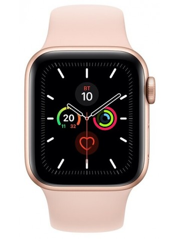 Apple Watch Series 5 GPS 44mm Aluminum Case with Sport Band Pink