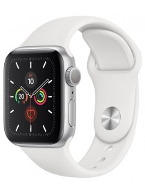 Apple Watch Series 5 GPS 44mm Aluminum Case with Sport Band Silver