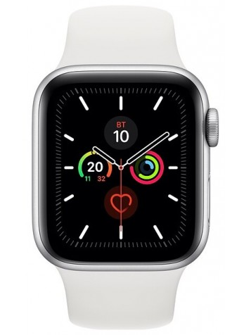 Apple Watch Series 5 GPS 40mm Aluminum Case with Sport Band Silver