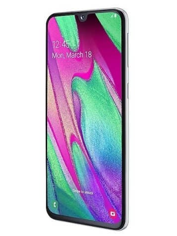 Samsung Galaxy A40 White 64GB
